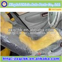 Zhixia brand plastic car seat cover/plastic car seat cover in piece with high quality