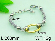 High Quality Men Stainless Steel Magnetic Snake Chain Bracelet