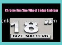 car emblems,chrome rim badges
