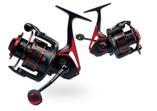 Aluminum alloy body and side cover spinning reel/waterproof drag/Machined aluminum with EVA knob