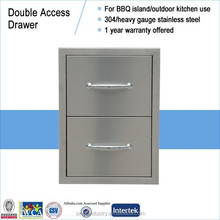 16x22 double drawer cabinet for kitchen island