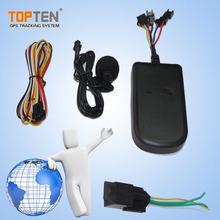 Fácil funcione a perseguidor del GPS del vehículo, gps de la motocicleta que siguen el dispositivo