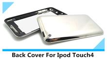 blanco cubierta de la cubierta negro para el iPod touch 4