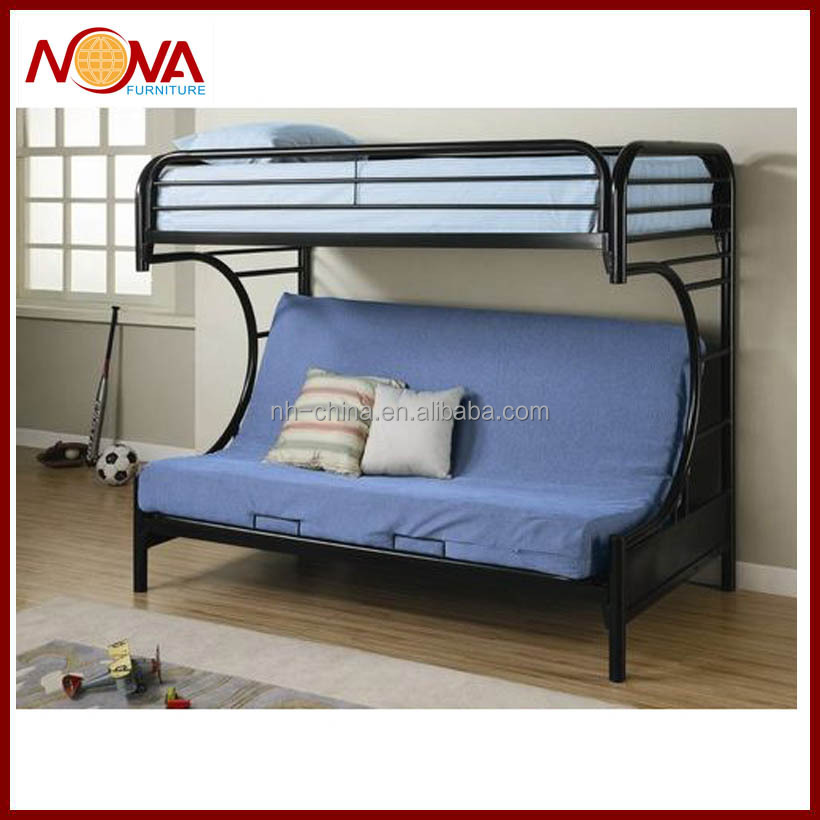 Steel Double Decker Beds : Decker Metal Folding Bunk Bed Bed-m-15 - Buy Double Decker Metal Bed ...