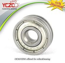 stainless steel ball bearing for suspended sliding door roller