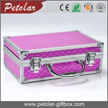delicate tool storage aluminum gift box with handle