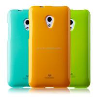 High quality original Brand Mercury Goospery TPU Jelly Case for HTC 700 with glitter powder