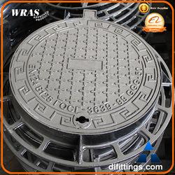 EN124 CO600 nodular iron heavy duty rectangular manhole covers