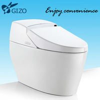 Bathroom easy manual ceramic bidet