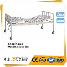 RC023T cheap 3 cranks manual hospital bed for sale