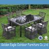 outdoor indoor garden rattan wicker aluminum dining set waterproof outdoor furniture covers