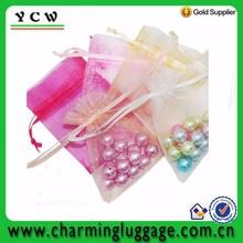 Popular Organza gift promotion drawstring jewelry bag