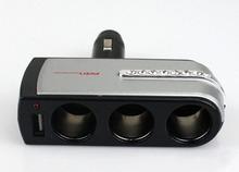 1-to-3 Car Cigarette Lighter Socket