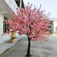 pink cherry blossom tree wedding flower tree home decoration artificial tree