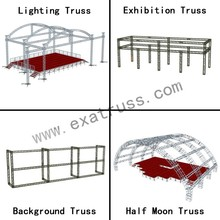 hot sale and cheap aluminum spigot truss for outdoor or indoor concert stage for exhibition for trade show