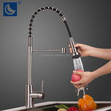 Factory directly ss304 pull out kitchen faucet spray/kitchen sink mixer