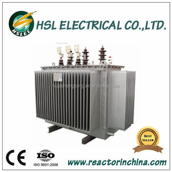 3 phase oil immersed 12 kv electrical transformer