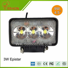 heavy duty 9w led work light , offroad led driving lights , led driving light rectangle