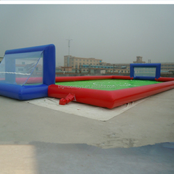 newest PVC giant inflatable sports ball fields/soccer field