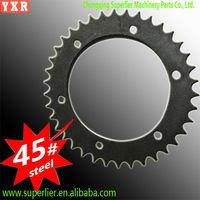 best quality c45 carbon steel link chain sprocket wheel