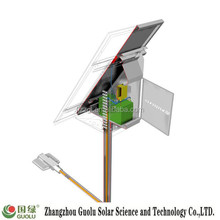 120w Double arm grid solar system without battery CE Rohs IP65 industrial zone light