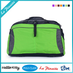 Multifunctional travel rolling duffle trolley bag