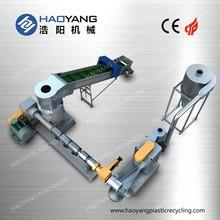 top seller plastic recycling granule making machine/plastic grinder machine/plastic film recycling machine