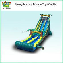 long inflatable slide water slide residential , jungle giant inflatable water slide