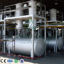Newest tech 50T/D capacity used oil purification machine with CE/ISO