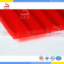 polycarbonate hollow sheet roof translucent sheet