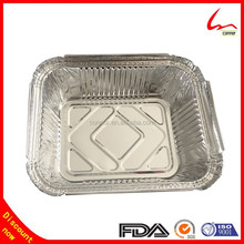 450ml Household Food Service Aluminum Foil Container With Paper Lids