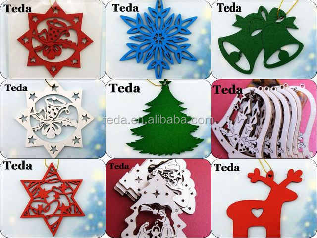 Painted wooden ornaments wholesale (3)1