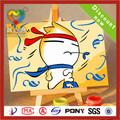 2014 la venta caliente pintura al óleo para niños sobre lienzos