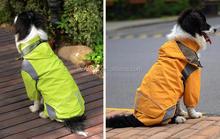 waterproof breathable pet dog rain coat