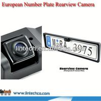 2014 NEW!! China supplier European Number Plate Rearview Camera for Gelly