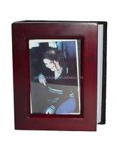 Wood Frame Covered Photo Album in MH