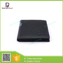 China good supplier good quality genuine leather men's travel wallet