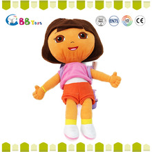 Plush doll making factory & no hair baby doll manufacturer ICTI Audited