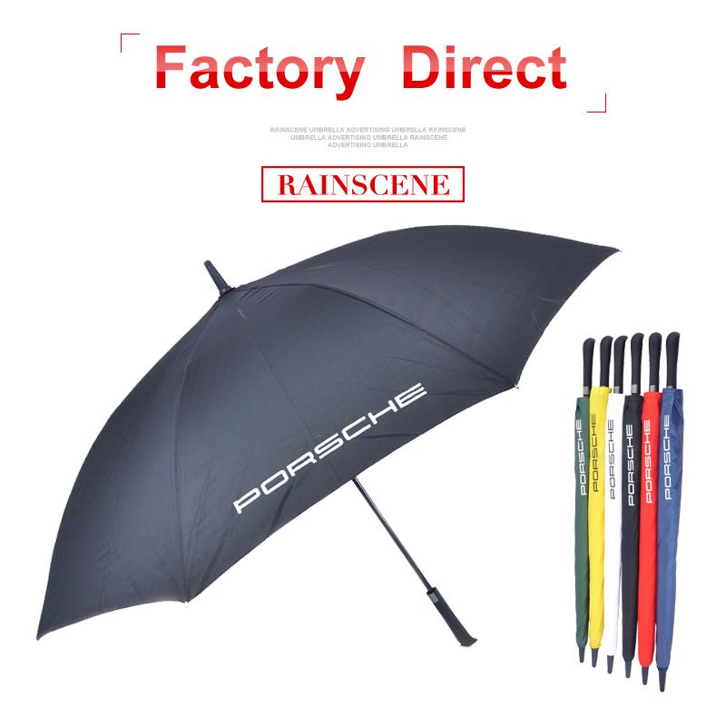 Fibra de vidro à prova de vento guarda-chuva de golfe características