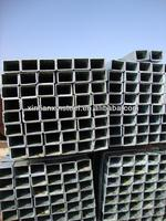 ASTM Galvanized cold rolled square steel tubes/pipes Tianjin