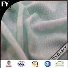 Custom digital print your own designs on silk georgette fabric