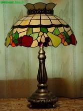 Mais recente 16 polegada vitral de tiffany abajur design da fruta 16S20-19T615