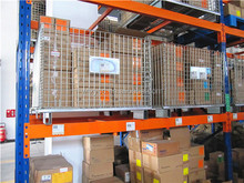 Steel Stacking Folding Warehouse Cages/Storage Cages