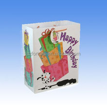 New Products Biodegradable Paper Bag Supplier / Birthday Paper Bag Manufacturer