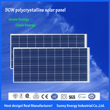 poly solar panel 95 Watt PV solar module With TUV,CE,SGS,CSA,ISO, for solar lighting, solar system