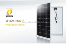 Shine good price 100w monocrystalline solar panel and solar module with CE TUV