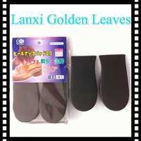active carbon eva wholesale heel cushions rubber adjustable height heel up shoe inserts pads