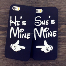 Professional OEM lovers mobile phone case, Creative mobile phone shell for iphone