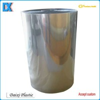 Rigid pvc plastic film roll