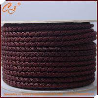 4mm Braided Nylon String in Spool in Brown